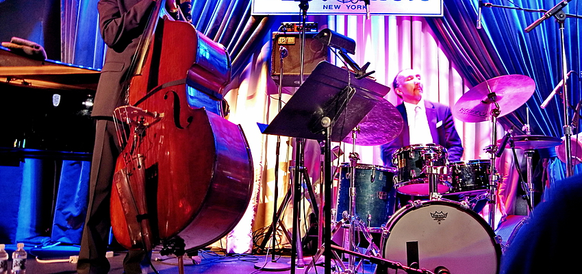 Concert de jazz au Blue Note, New York
