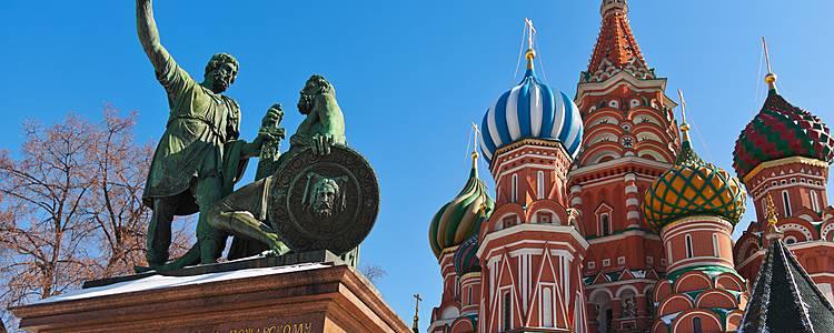 Von Moskau nach Sankt Petersburg