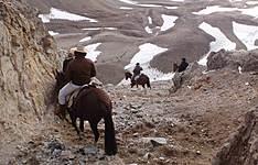 Traversée des Andes à cheval