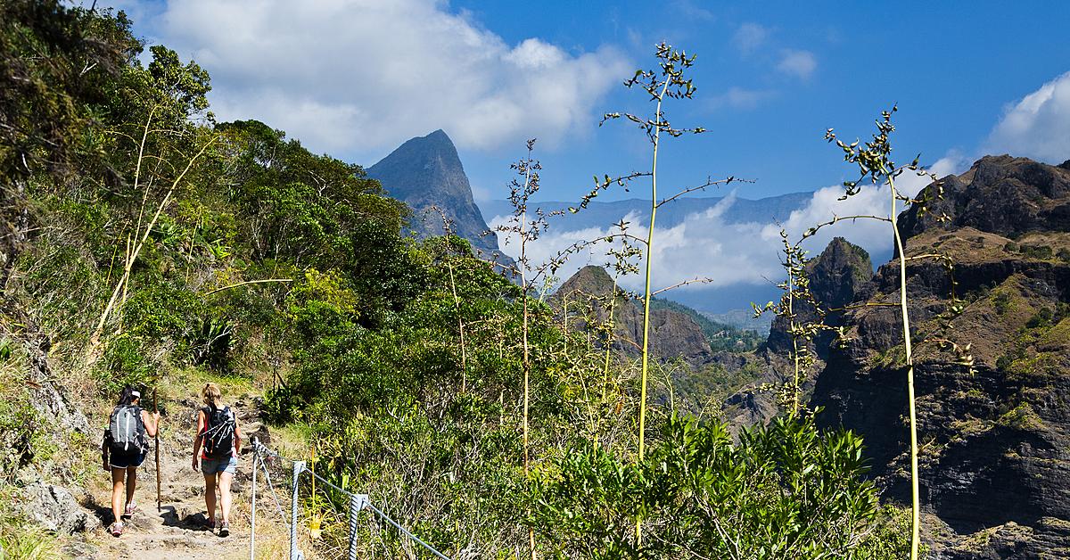 Voyage à pied Réunion : Trek GRR2: La Grande Traversée