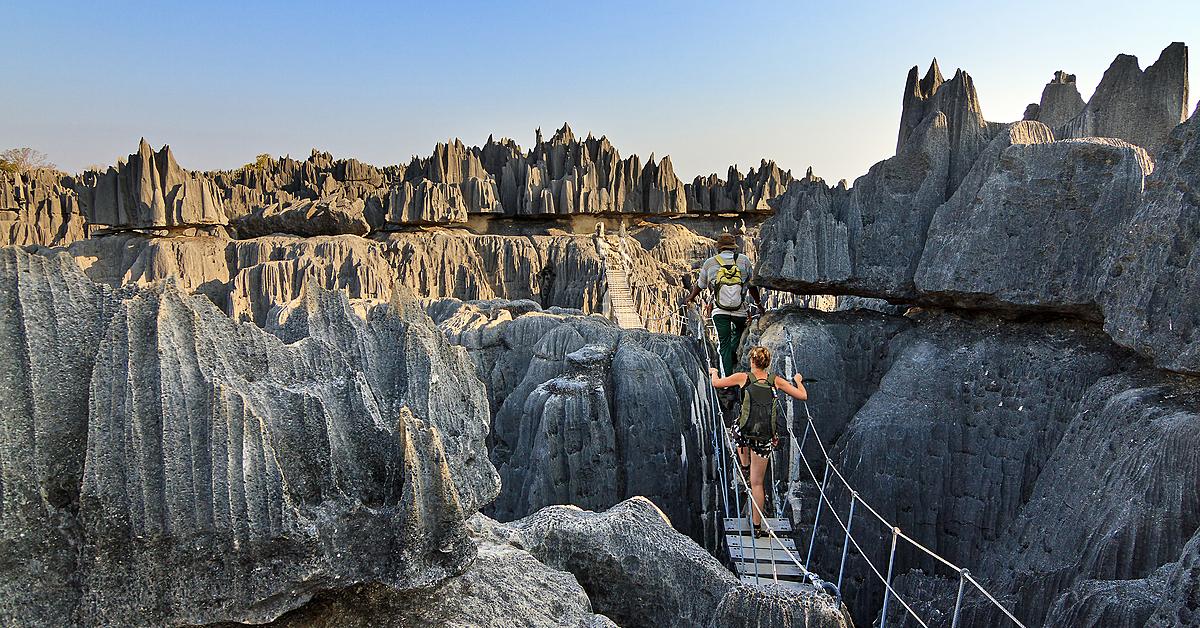 Voyage sur l'eau Madagascar : Trekking et canoë jusqu\'au massif du Bemaraha