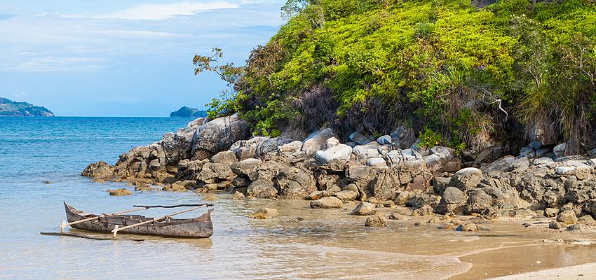 Barca malgascia tradizionale, Madagascar
