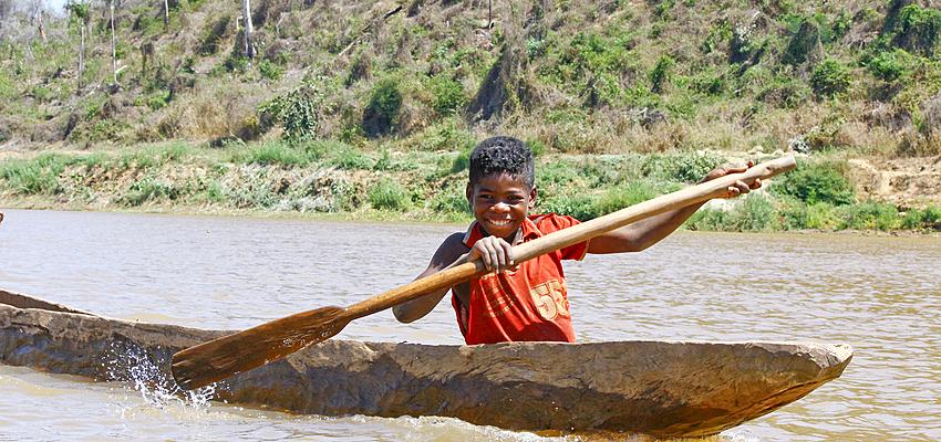 Fiume Manabolo, Madagascar