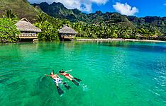 Le paradis sur pilotis: Tahiti,Raiatea, Bora Bora