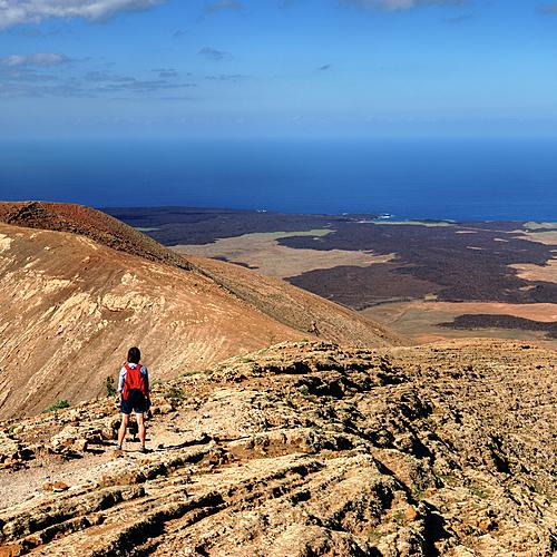 Lanzarote volcanique, une découverte à pied - Île de Lanzarote -