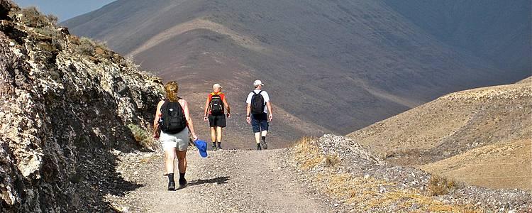 Gran Canaria  et Fuerteventura à pied entre amis