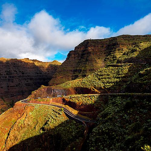 La Gomera, L'île des randonneurs en petit groupe - Vallehermoso -