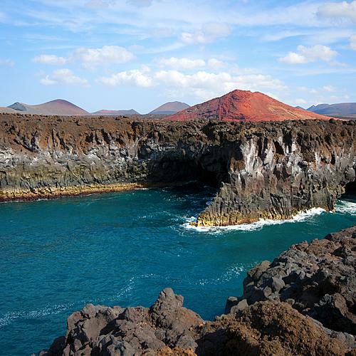 Randonnées sur l'île de Lanzarote, en groupe -
