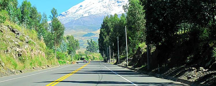 Mietwagenreise durch die Anden