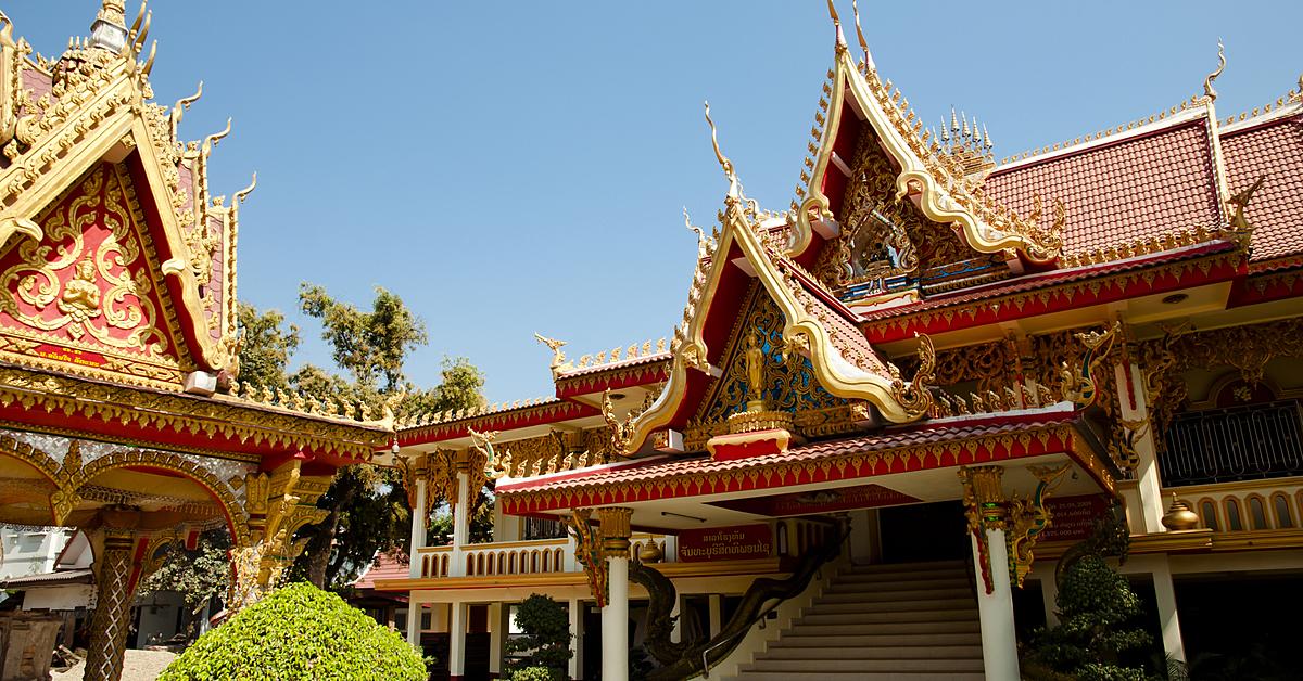 Voyage à pied Laos : Petit tour de Luang Prabang et sa campagne