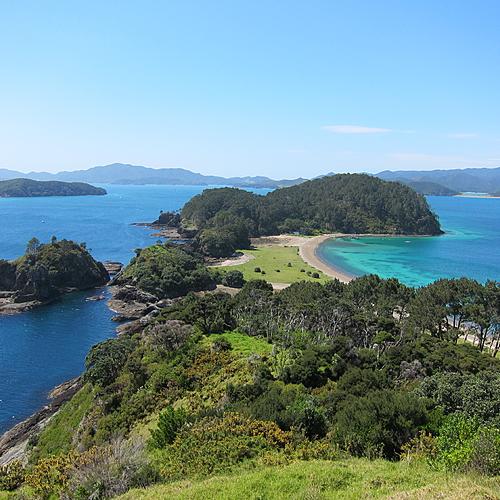 île du Nord, plages, nature et geysers - Auckland -