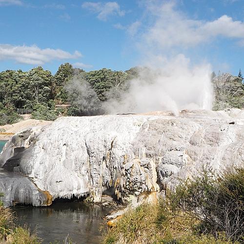 De Auckland à Wellington, geysers et volcans - Auckland -