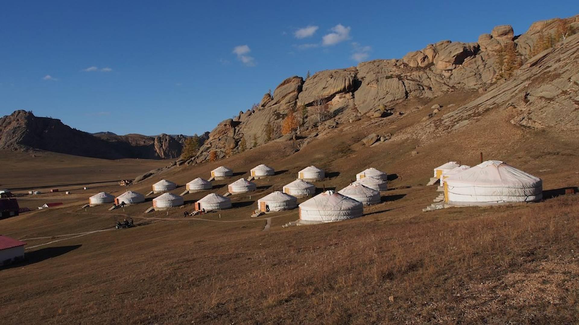 Die Wildnis der Mongolei