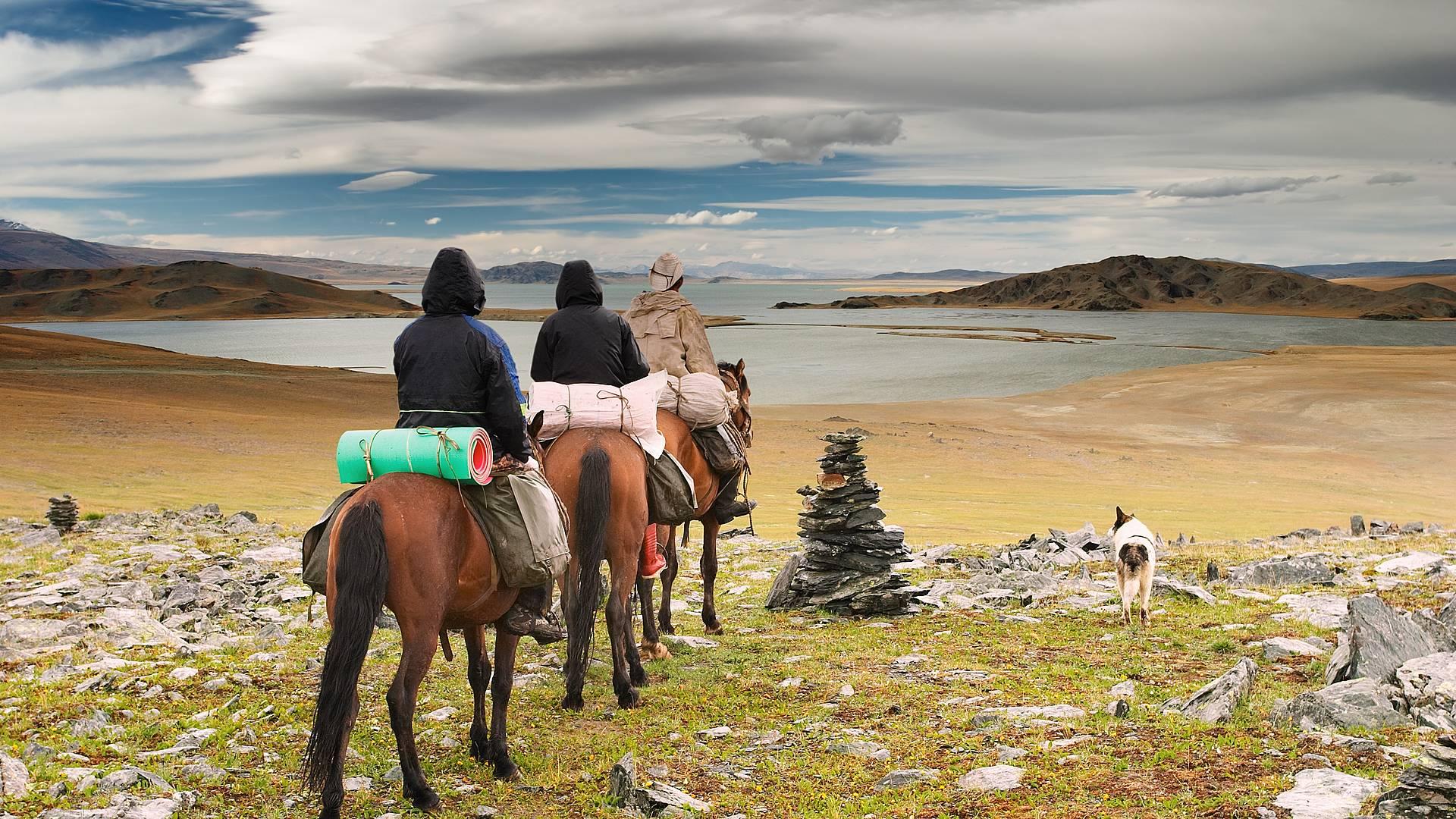 Dans la peau d'un nomade des steppes