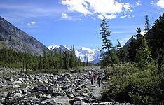 Trek summit dans l\'Altaï