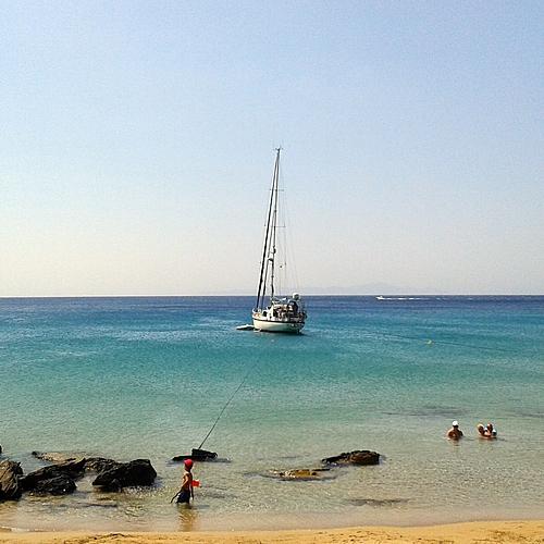 Plongée et voile à Paros -