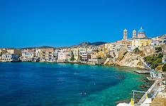 Plongée et voile à Syros