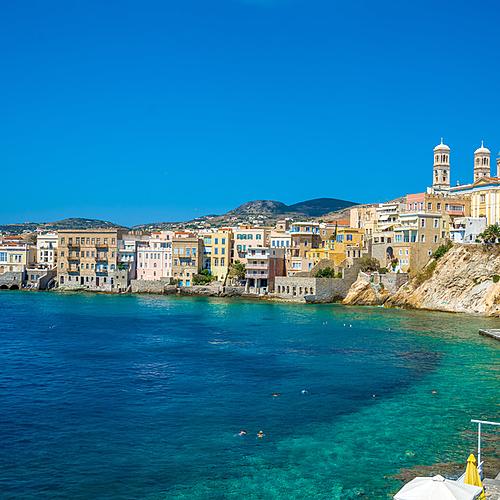 Plongée et voile à Syros -