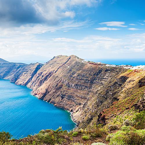 Randonnées libres dans les Cyclades - Santorin -