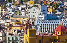 Les villes coloniales de l\'ouest du Mexique