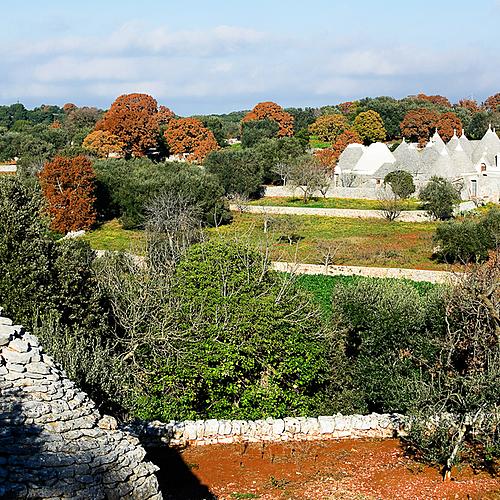 Agritourisme dans la vallée d'Itria -