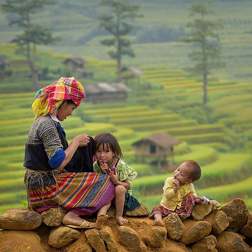 La route mandarine en famille - Hanoï -