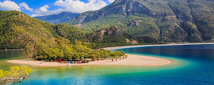 Landscapes and paradise beaches