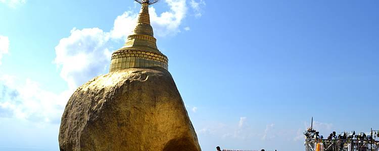 Goldene Tempel und Pagoden