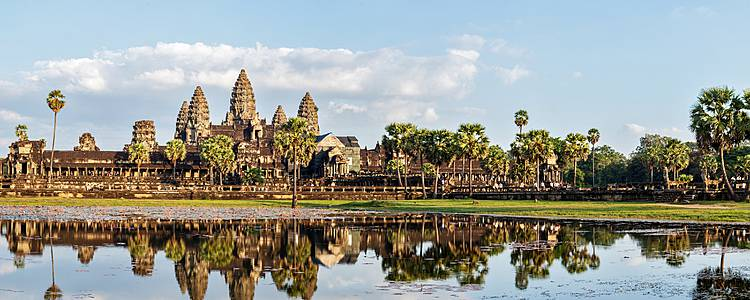 Family adventure to ancient Cambodia