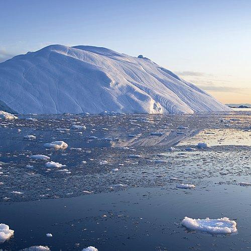 Extension en baie de Disko depuis l'Islande - Reykjavik -