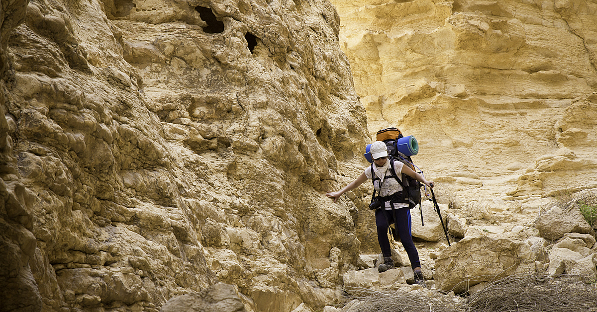 Voyage à pied : Circuit Trekking en Palestine et Israel