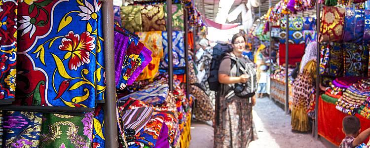 Des bazars ouzbeks aux plaines kirghizes