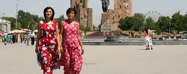 Le grandi vie dei mercanti, Uzbekistan Turkmenistan