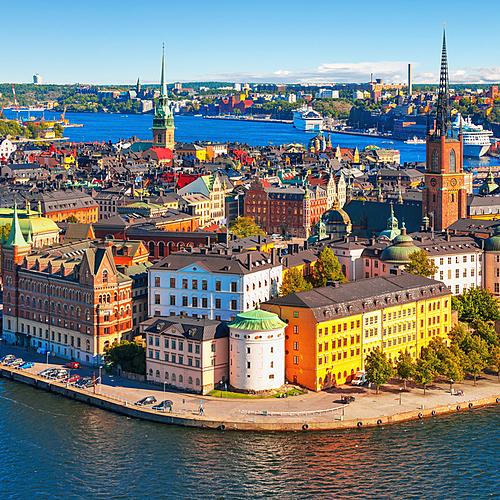 Stockholm, côte Baltique Dalécarlie - Stockholm -