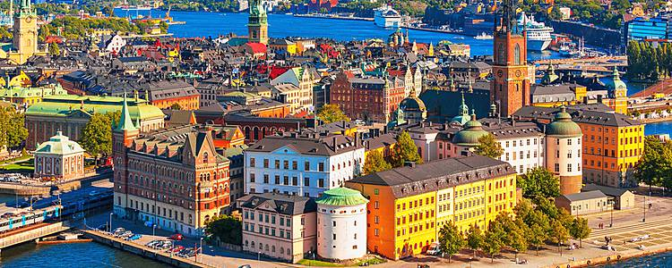 Stockholm, côte Baltique Dalécarlie
