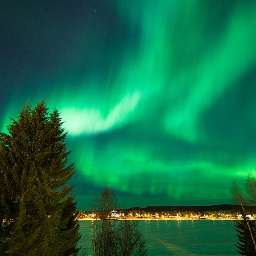 Multi activités et aurores boréales - Kiruna -