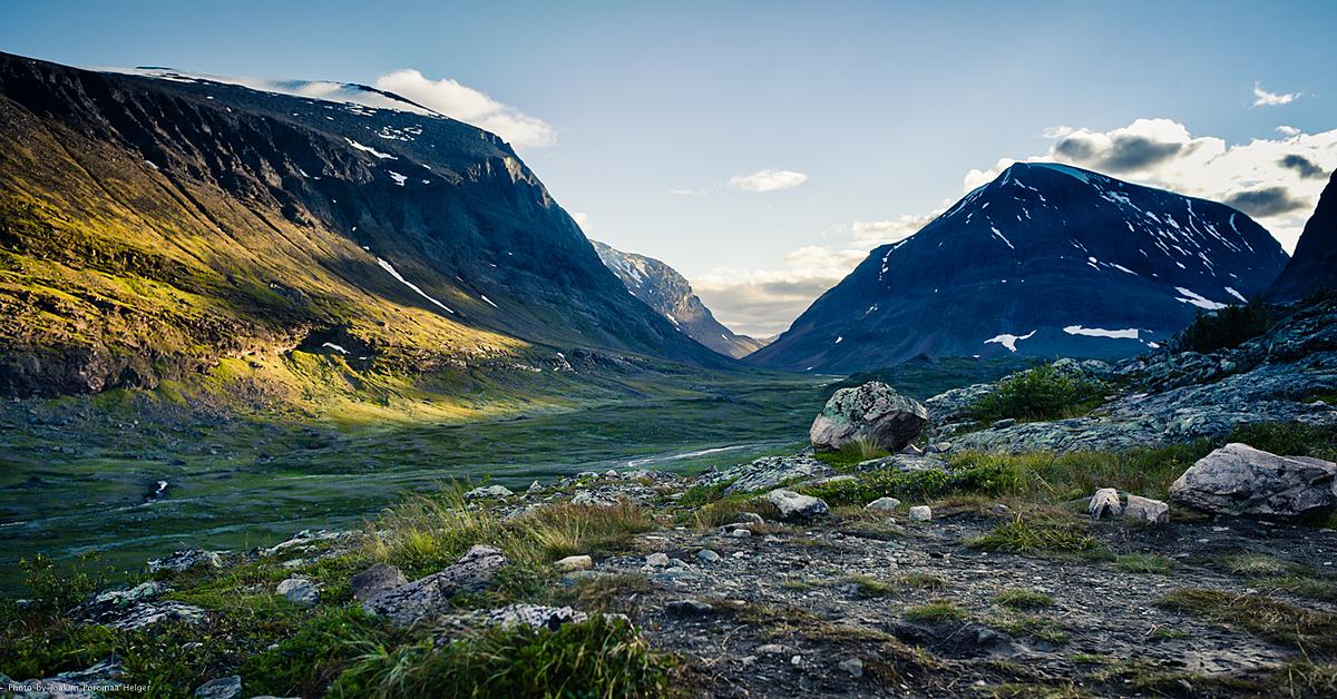 Voyage à pied : Randonnée avec un guide, sur la mythique voie royale - Laponie Suédoise