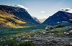 Randonnée avec un guide, sur la mythique voie royale - Laponie Suédoise