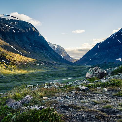 Randonnée avec un guide, sur la mythique voie royale - Laponie Suédoise - Torneträsk -