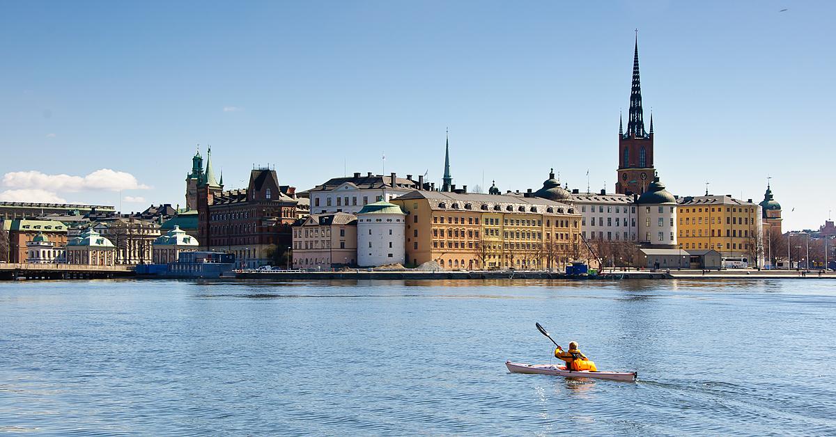 Voyage en kayak Suède : Archipel de Stockholm en kayak