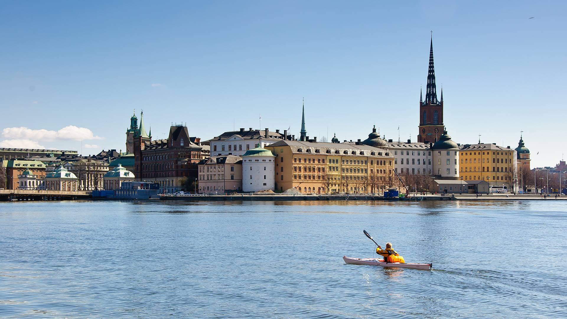 Stockholm et son archipel - A pied, en kayak et en bivouac