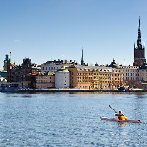 Archipel de Stockholm en kayak - Stockholm -