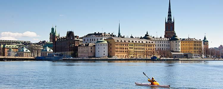 Archipel de Stockholm en kayak