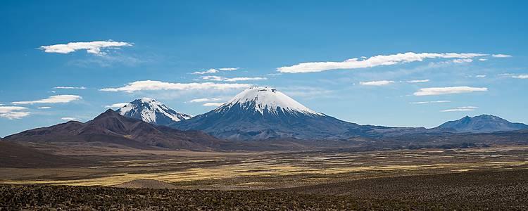 Lagunes et volcans de la Bolivie au Chili