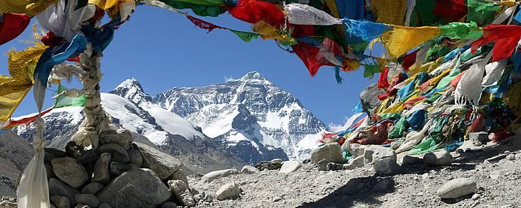 Kala Pattar et camp de base de l'Everest