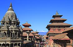 La découverte de la vallée de Katmandou