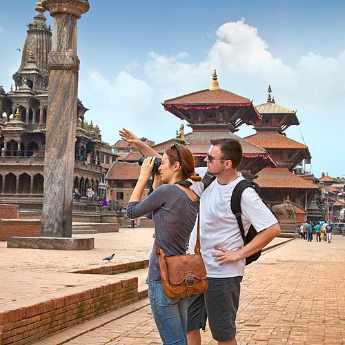 Voyage de noces au Népal - Temple de Pashupatinath -