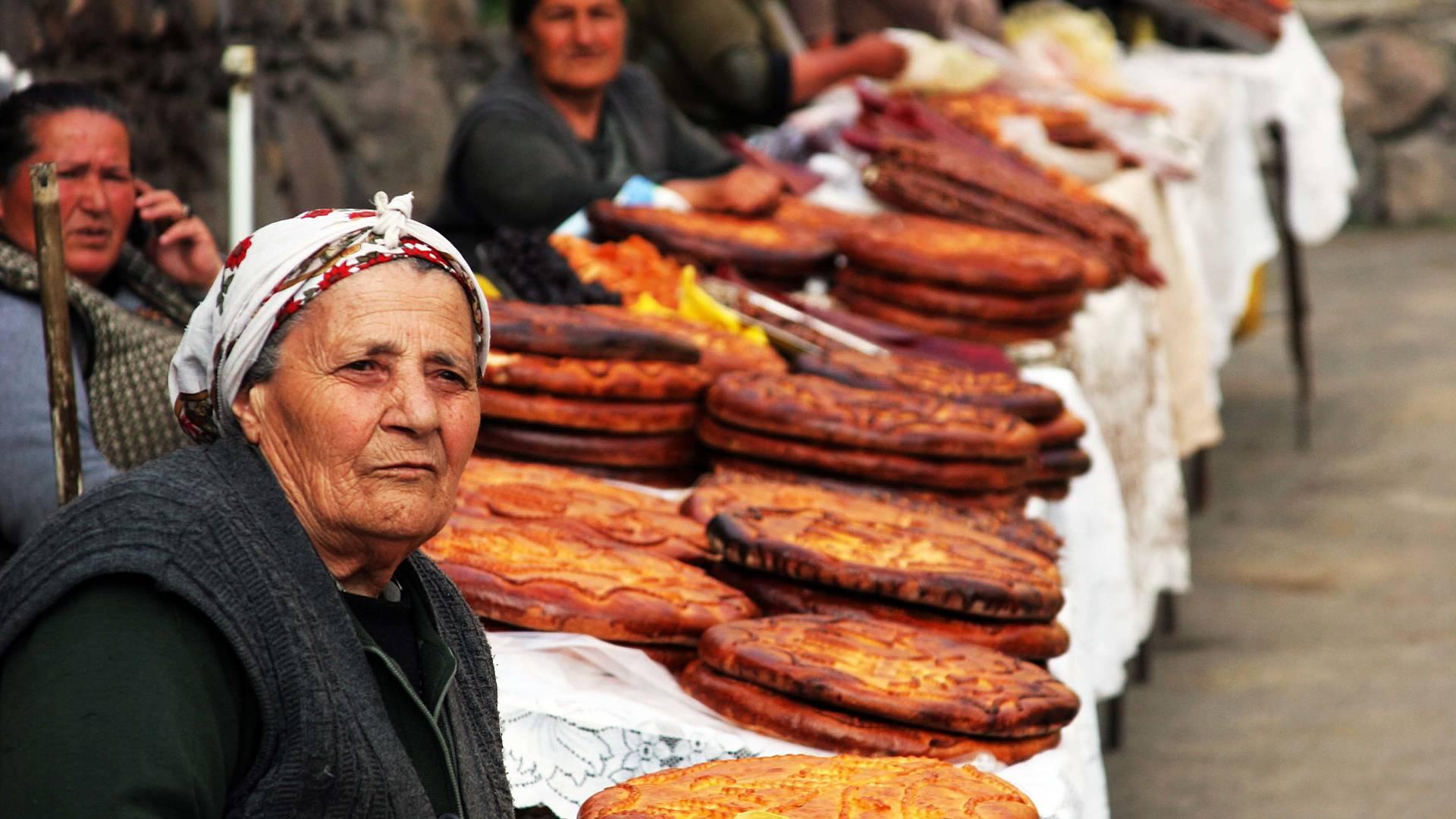 La cucina più raffinata del Caucaso