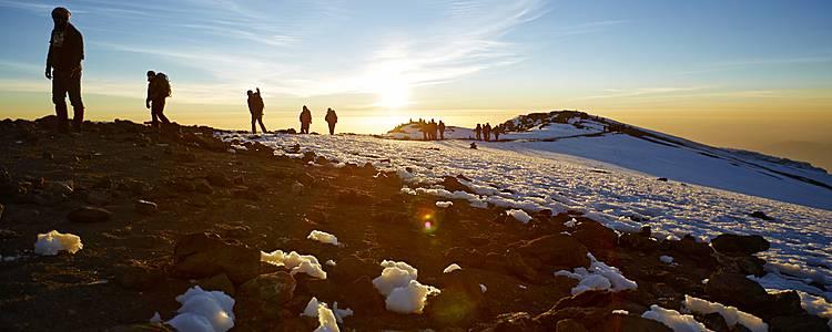 Spedizione sul Kilimangiaro in gruppo