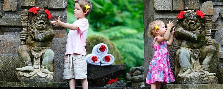 Bali avec vos enfants